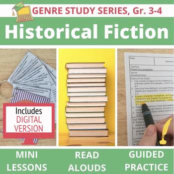 Historical Fiction Unit BUNDLE: 20 Lessons, 16 Read Alouds + Guided Practice