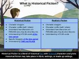 Historical Fiction: - Unit of Study