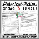 Historical Fiction Unit of Study: Grade 3 BUNDLE