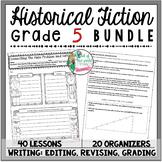 Historical Fiction Unit of Study: Grade 5 BUNDLE