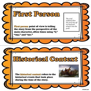 Historical Fiction Word Wall