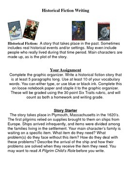 Historical Fiction Writing
