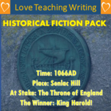 Historical Fiction Writing Pack
