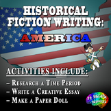 Historical Fiction Writing Project Bundle – American History
