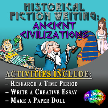 Historical Fiction Writing Project Bundle – Ancient Civilizations