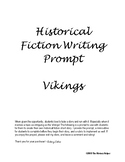 Historical Fiction Writing Prompt - Vikings