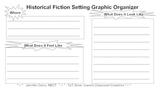 Historical Fiction Writing: Setting Graphic Organizer