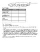 Historical Fiction Process Writing Student Packet