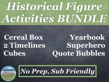 Historical Figure Activities Bundle