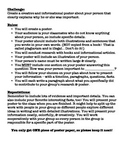 Historical Figure Biography Poster Project Guidelines
