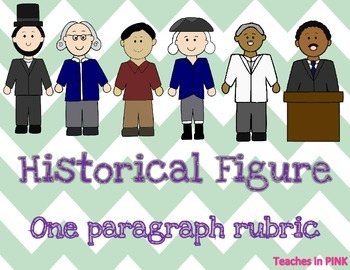 Historical Figure (Biography) one paragraph rubric
