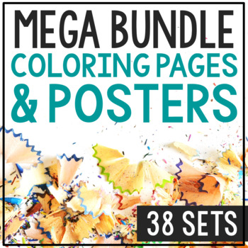 BIOGRAPHY COLORING PAGES, Bundle of 198+ for Easy Crafts & Interactive Notebooks