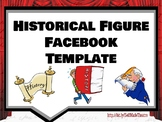Historical Figure Facebook Powerpoint / Google Slide Template