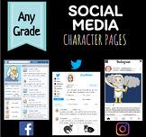 Social Media Pages (Facebook, Twitter, Instagram) Project plus DIGITAL Version