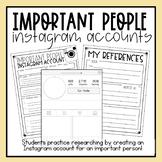 Historical Figure Instagram Account