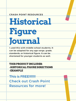 Historical Figure Journal Project