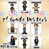 Historical Figure Posters - 3rd Grade