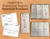 Historical Figure Research Brochure - Informational Writing and Social Studies!