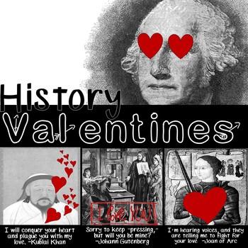Historical Figure Valentine's Day Activity