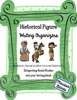 Historical Figure Writing Organizer