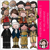 Historical Figures clip art Part 1 - COMBO PACK- by Melonheadz