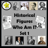 Historical Figures Who Am I, set 1