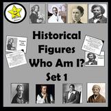 Historical Figures Who Am I, set 1