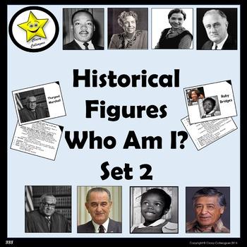 Historical Figures Who Am I, set 2