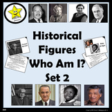 Historical Figures Who Am I, set 2
