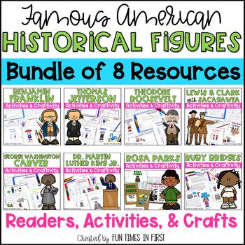 Historical Figures Bundle (First Grade- Georgia)