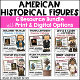 Historical Figures Bundle   First Grade Georgia   Distance Learning