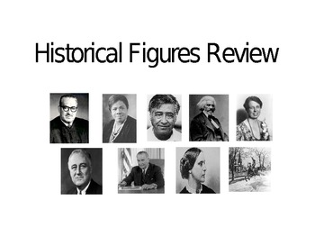 Historical Figures CRCT Review: Power Point