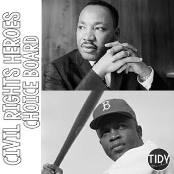 Jackie Robinson & Martin Luther King Jr.  Choice Board
