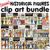 Historical Figures Clip Art (Growing) Bundle