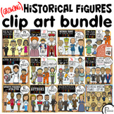 Historical Figures Clip Art (Growing) Bundle