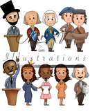 Historical Figures (Color)