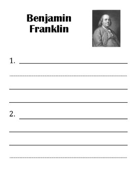 Historical Figures Fact Book