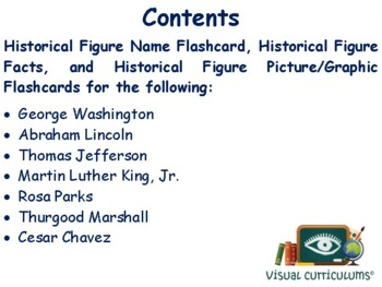 Historical Figures Flashcards - task cards study guide state exam prep 2017 2018