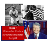 Historical Figures - GA - Character Traits PowerPoints