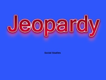 Historical Figures Jeopardy