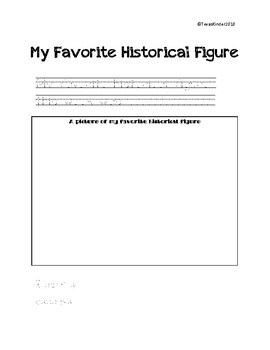 Historical Figures Packet