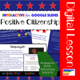 GSE SS2H1: Historical Figures Positive Citizenship Traits for Google Slides