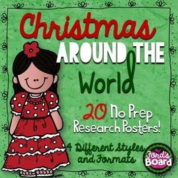 Historical Figures/Christmas Research Bundle