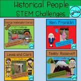Historical Figures STEM Challenge Bundle