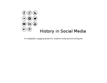 Historical Figures Social Media Page