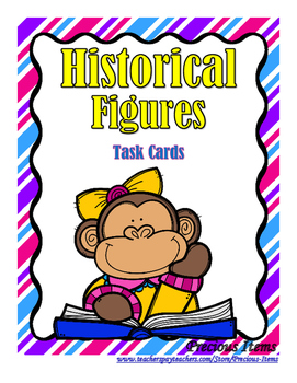 Historical Figures - Task Cards