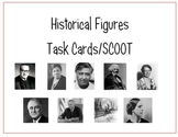 Historical Figures Task Cards - SCOOT