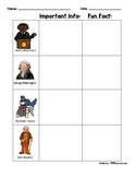 Historical Figures Worksheet