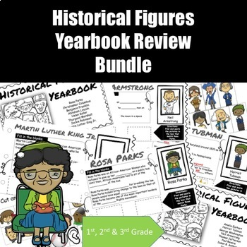 Historical Figures Yearbook Review Bundle