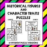 Historical Figures and Character Traits Puzzles